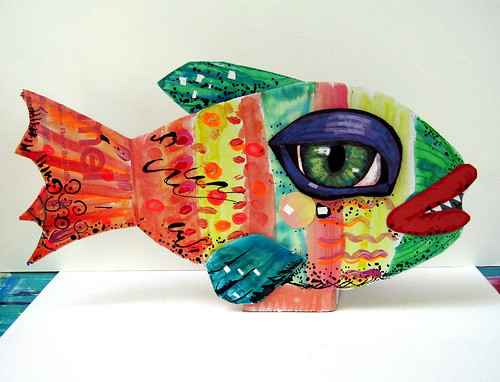 cardboard fish | by davis.jacque