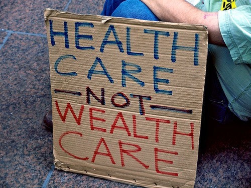 Health Care Not Wealth Care | by Waywuwei