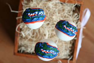 University of Florida Cake Pops | by Sweet Lauren Cakes