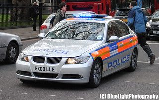 Metropolitan Police / BMW 325d / Area Car / AZM / BX08 LLE | by Chris' 999 Pics