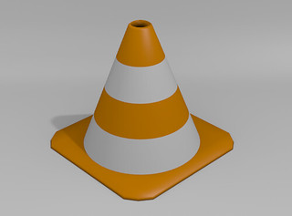 VLC icon made with Blender | by FutUndBeidl