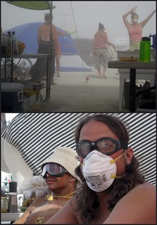 Dust Storm! Burning Man 2007 | by goofcitygoof