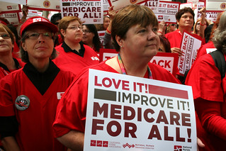 Love it! Improve it! Medicare for All! | by National Nurses United