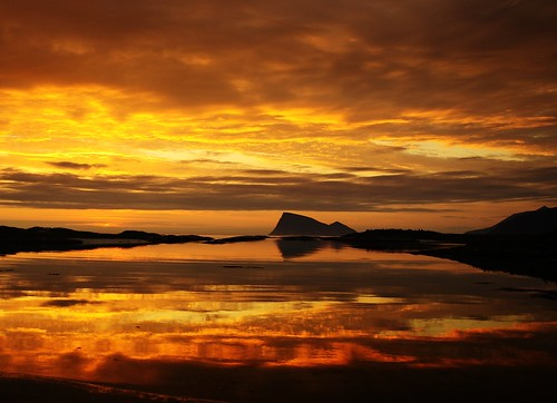 sunset on fire | by John A.Hemmingsen