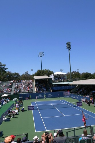 Bank of the West Classic 2012 - Vandeweghe vs. Wickmayer | by amorimur