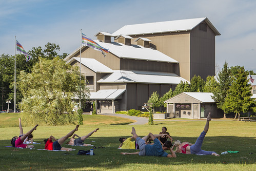 Stretches on the Lawn | by The Glimmerglass Festival
