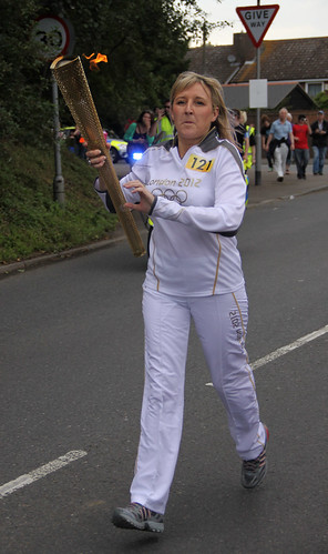 Olympic torch  relay Faversham, Kent | by that Geoff...