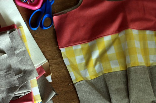 plaid color blocks in the works | by artsy-crafty babe