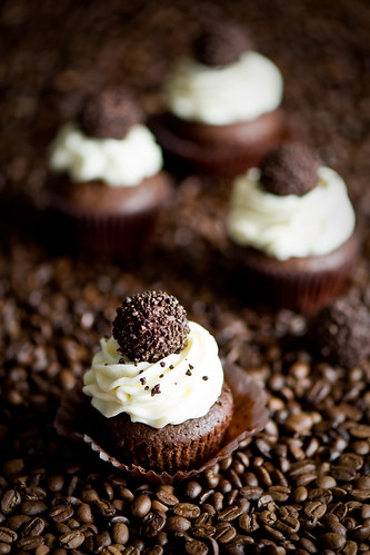 "Chcolate cupcakes ""Black Pearls"" 