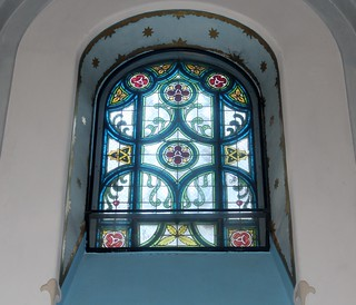 Beautiful Stained Glass Window in the Blue Church in Bratislava | by B-Anne-B