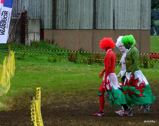 flying the flag for Wales.Total Warrior Shap Abbey August 2012 | by skittzitilby