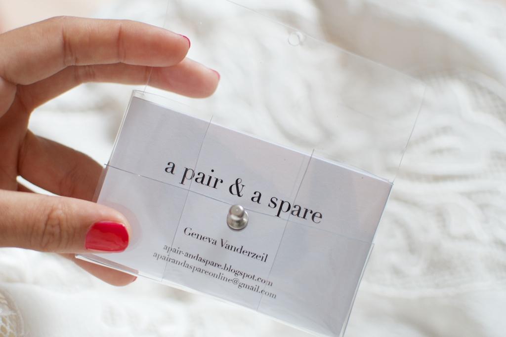 DIY Transparent Business Card Holder | © Geneva Vanderzeil, … | Flickr