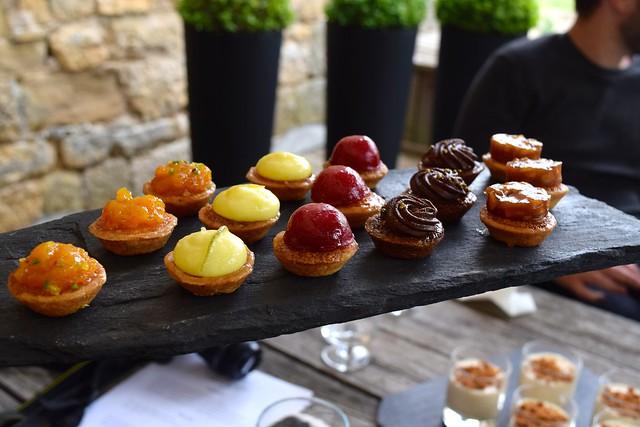 Petite Fours at Chateau de Lissac | www.rachelphipps.com @rachelphipps
