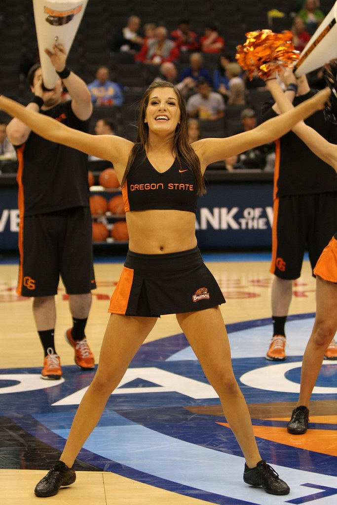 Speaking, Oregon state university cheerleaders goes beyond