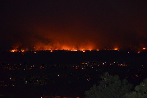Waldo Canyon fire | by FtCarsonPAO