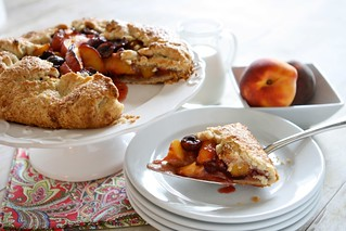 Peach Cherry Galette 005 | by Hungry Housewife
