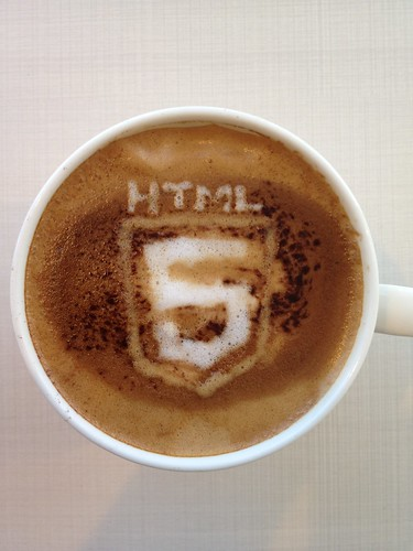 Today's latte, HTML5. | by yukop