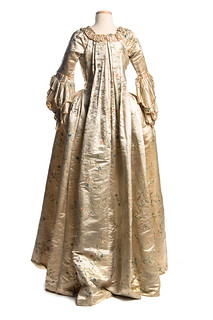 Sack-back gown, 1760s | by Charleston Museum