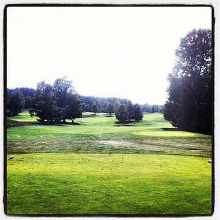 #5 tee on the Blue Course at Mistwood | by farlane