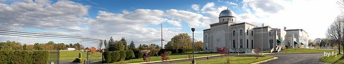 100_0858- Panoramic shot of Baitur Rehman Mosque, Silver Spring, MD, USA. | by God's World, USA
