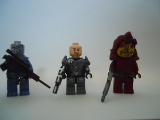 Lego Mass effect Team | by ♫ GhostEffects ♫