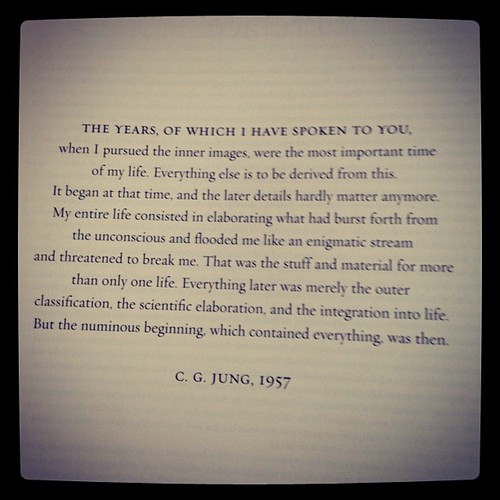 #fridayreads Jung's RED BOOK | by Austin Kleon