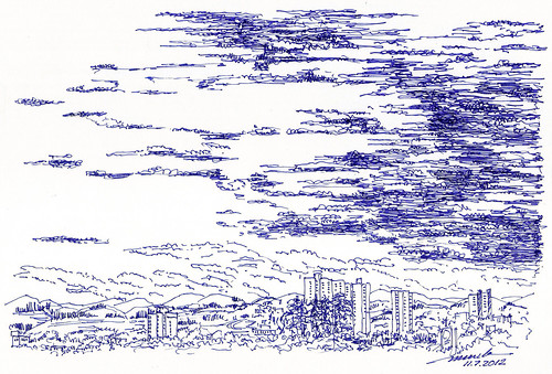 Draw a skyscape | by -murilo-