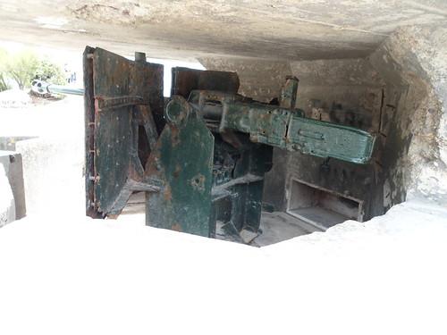 German 50 Mm Anti Tank Gun: 50mm Anti Tank Gun Located On