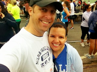 Cath and I before the Wharf-to-wharf race last weekend | by silent (e)