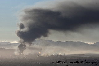 Chevron Richmond Refinery Fire 01 | by AliThanawalla