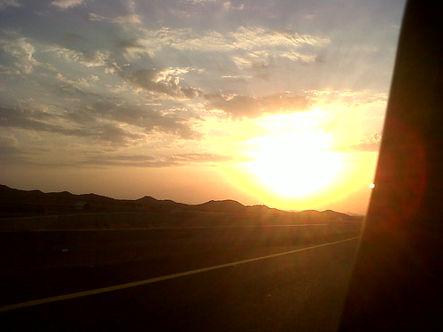 Sunset in the desert | by bint_a7mad