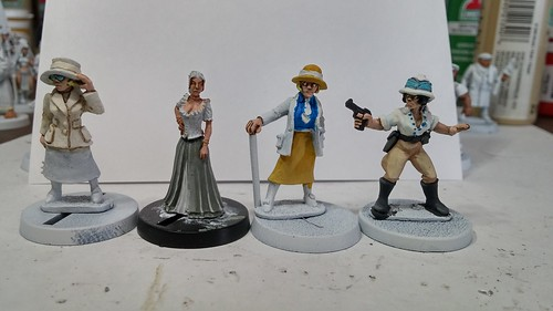 Yangzee City Campaign Characters