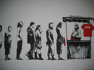 banksy capitalism for sale | by Bruce'sArtCollection