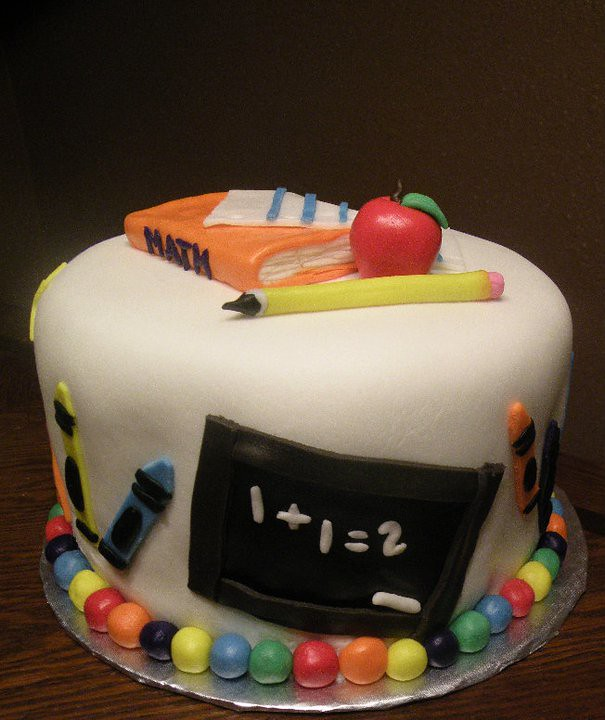School Cake By Kristie M Of Birthday Cakes 4 Free San Ant Flickr
