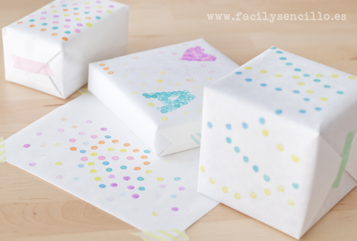 Kids Gift Wrapping DIY | by aDm (FacilySencillo)