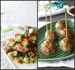 Weeknight Meal Ideas: Turkey Meatballs & Spicy Chicken Thighs | by CookinCanuck