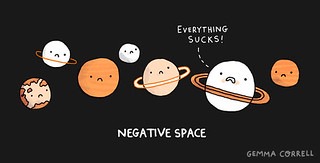negative space | by gemma correll