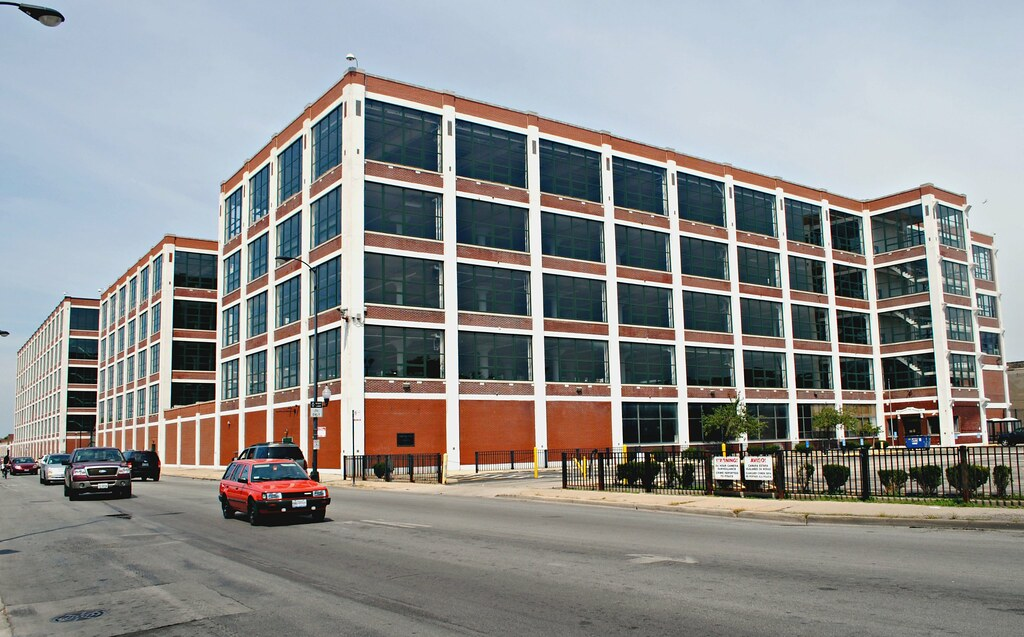 former olson rug building, 4000 w. diversey chicago il. | flickr