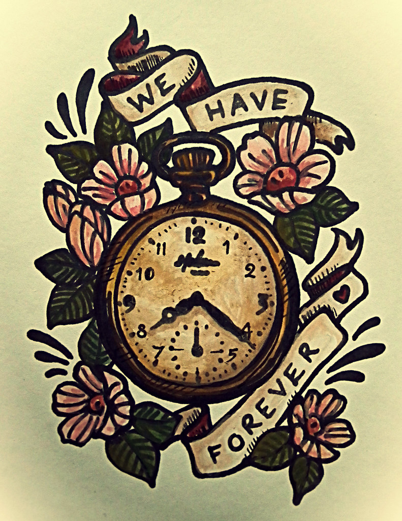 Buy Old watch pocket tattoo picture trends