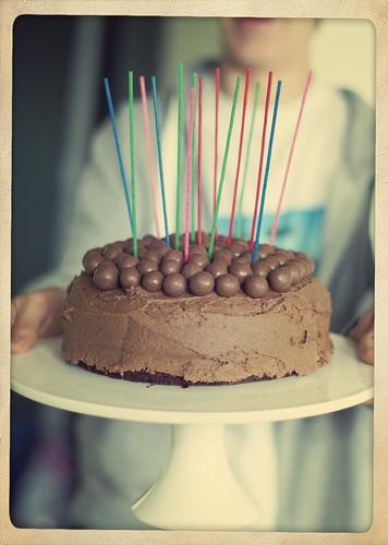 Megan Birthday Cake Face Slam