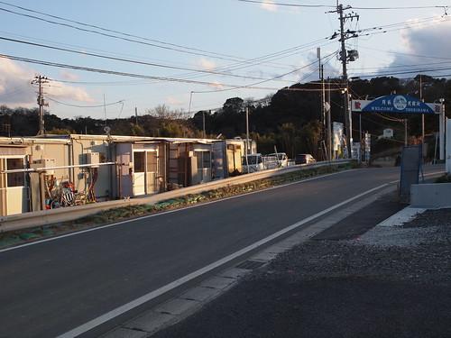 奥松島の月浜 仮設住宅