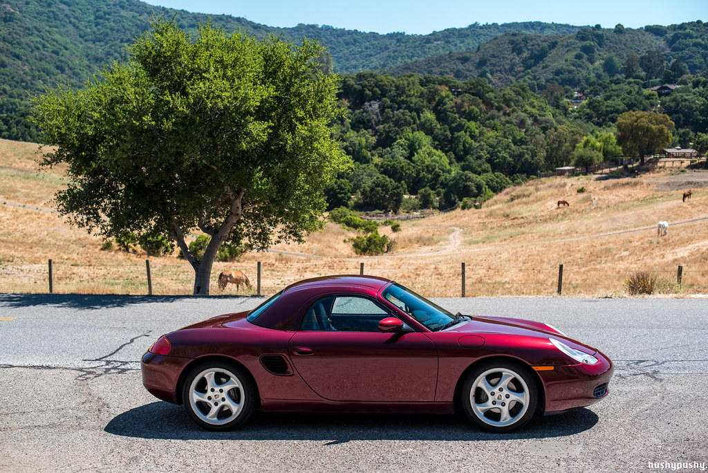 norcal 2000 boxster arena red ln ims hardtop