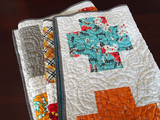 modern crosses comfort quilt | by Spotted Stone Studio {Krista}