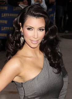 Kim Kardashian On Letterman - October 2009