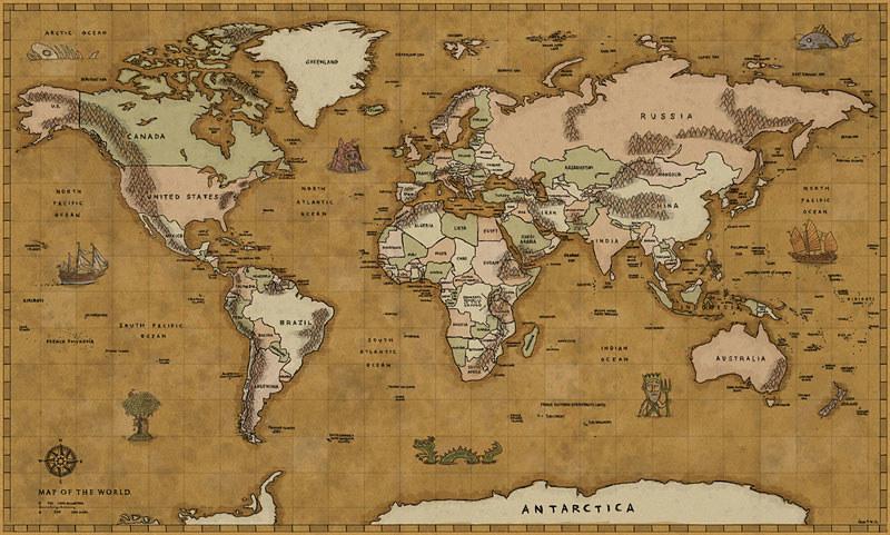 World treasure map okaysamuraitumblrpost19554678397 world treasure map by okaysamurai world treasure map by okaysamurai gumiabroncs Gallery