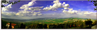 Panorama from Staffolo - Marche (Italy), my native country | by Uscè (OFF,OFF!!!!!)
