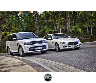 Range Rover and  Maserati Quattroporte - Atlantis Palm Dubai | by _PEC_