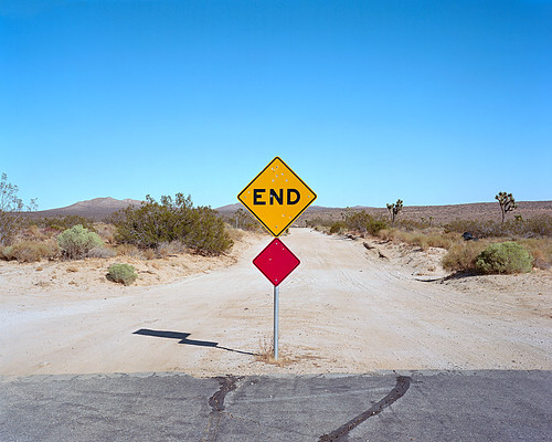 the end. rosamond, ca. 2011. | by eyetwist