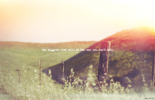 Risks 284/365 | by carE.