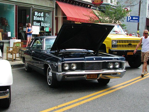 1968 mercury park lane in 2012 seen at the sawyer motors for Sawyer motors saugerties ny
